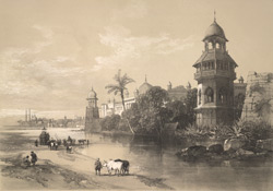 British India: Delhi, Palace of the King.